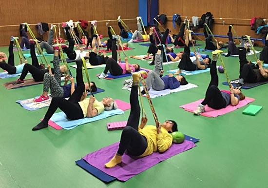 AGV Pernes Activités Stretching